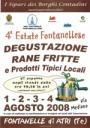Degustazione di rane fritte a Fontanelle di Atri (TE)